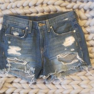 Genetic denim cut off shorts